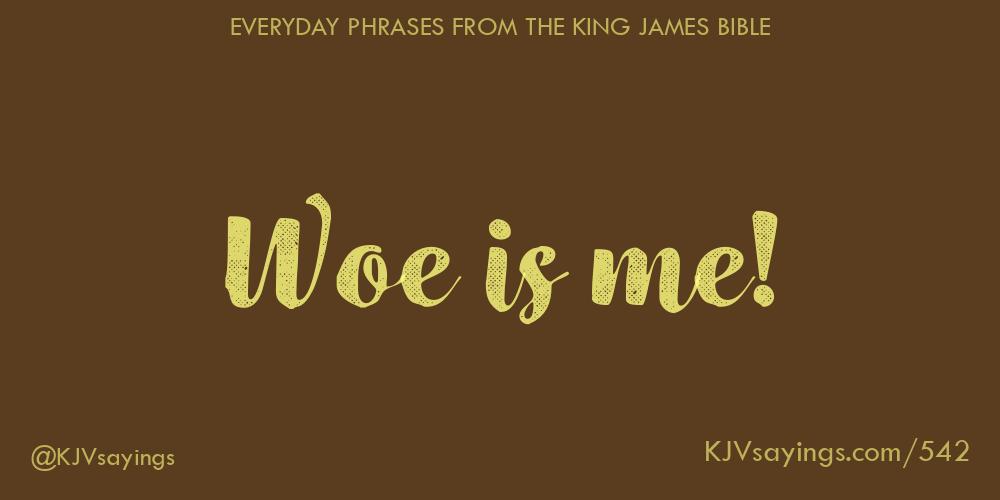 King James Bible (KJV) Sayings
